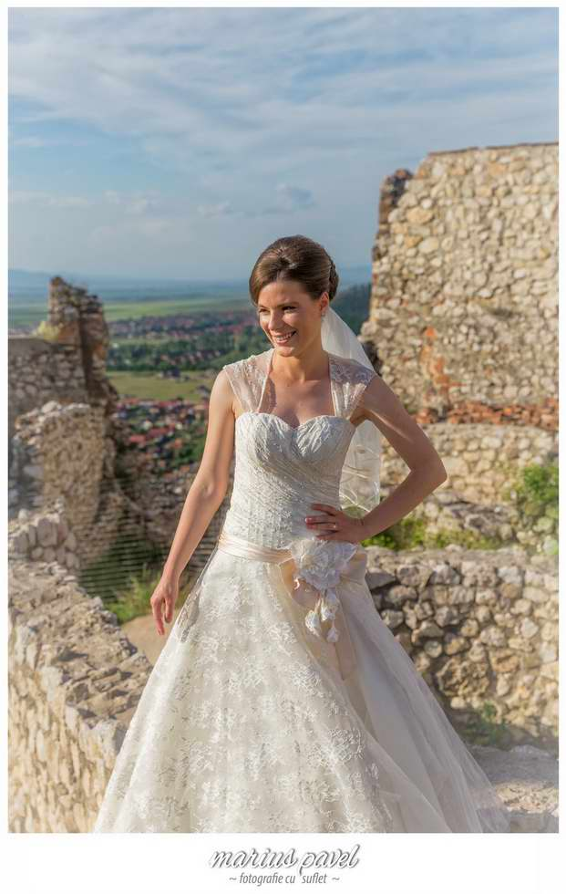 Trash the dress la Cetatea Rasnov