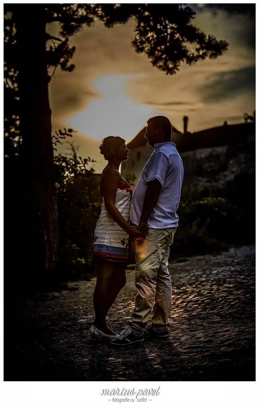 Fotografii inainte de nunta la Cetatea Rasnovului