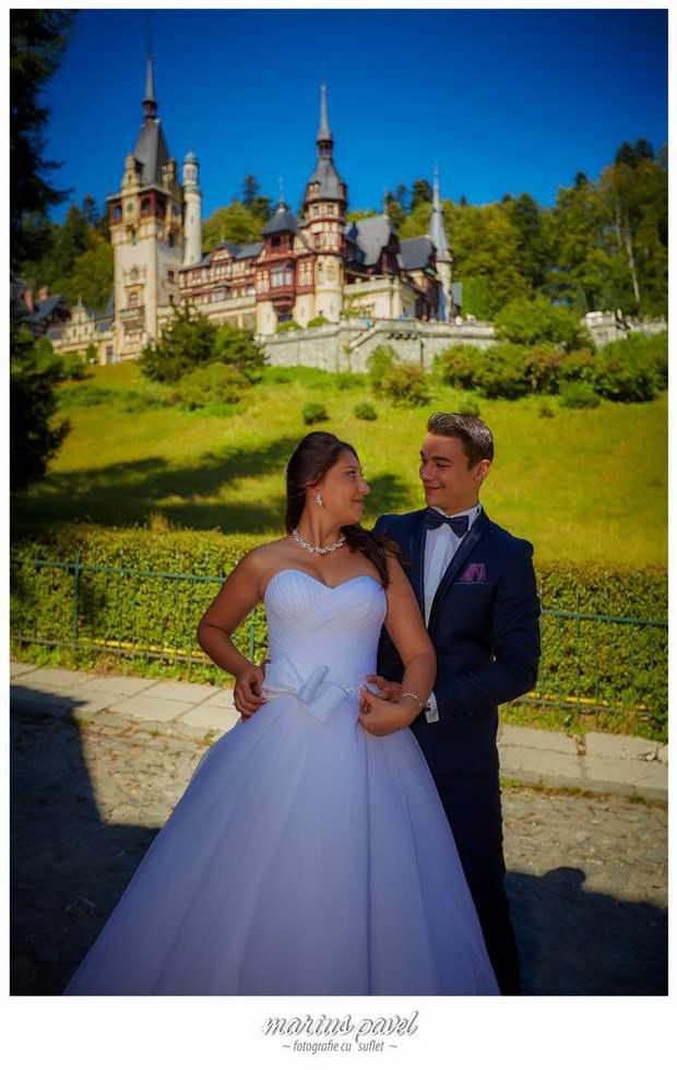 Sedinta foto miri Castelul Peles