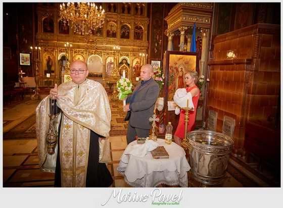 Foto botez biserica Piata Sfatului Brasov