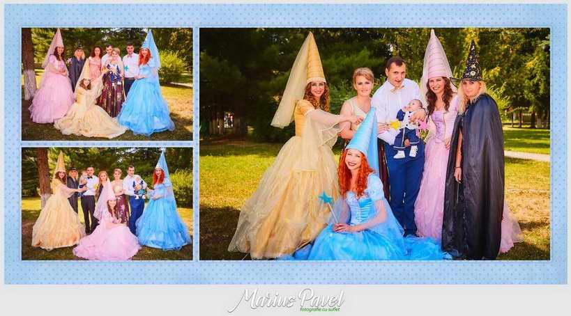 Album fotocarte cu fotografiile din ziua botezului