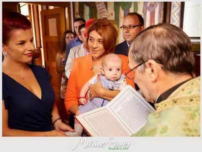 Fotografii botez bebe Brasov